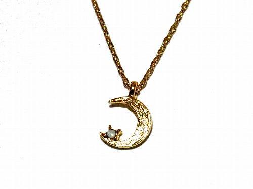 vesmir ネックレス (三日月) 【 Luccica / ルチカ 】【メール便 送料無料 】 アクセサリー  プレゼント キラキラ ムーン 三日月 かわいい 星 スター 月モチーフでおしゃ…