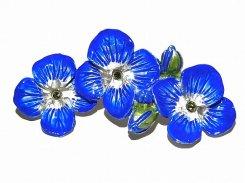ベロニカブローチ  【Palnart Pocパルナートポック Brough Superior / ブラフシューペリア 】 メール便 送料無料 花 フラワー 個性的