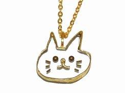 ねこちゃん ネックレス【thuthu appetizing accessories/nupi】 ハンドメイド animal アニマル 真鍮 アクセサリー accessoies necklace cat