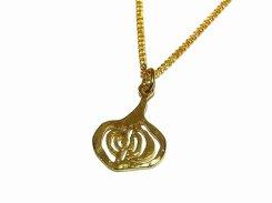 たまねぎ ネックレス【thuthu appetizing accessories/nupi】 necklace ハンドメイド 真鍮 アクセサリー