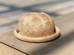 夏のこんがりメロンパンハット【KENT HAT / ケントハット】クイール・キャラメリゼ 限定 バージョン