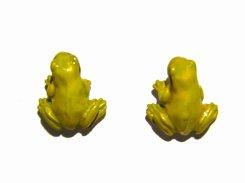 庭のカエル ピアス 【 Palnart Poc パルナートポック 】【メール便送料無料】 蛙 カエル フロッグ 梅雨 おしゃれ かわいい ユニーク スタッド ニッチ 可愛い 生き物