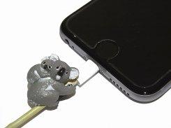 ZOOCORD(ズーコード)『 コアラ 』【 RELAX / リラックス 】 動物 断線予防 iphone ipad ケーブル 携帯 アクセサリー アニマル かわいい スマートフォン