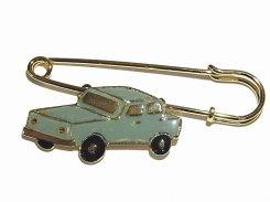 レトロカー ショールピン ブルー  Luccica ルチカ メール便送料無料 アクセサリー おもしろ 大人可愛い 車 CAR オシャレ かわいい