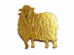 チュビオット ブローチ 【 Luccica ルチカ 】【 メール便 送料無料 】 アクセサリー ヒツジ 羊 おもしろ カワイイ アニマル 動物 プレゼント