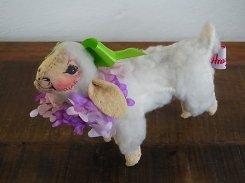 イースター シープ 2【 Annalee Dolls / アナリー ドール 】1991年 アメリカ製 ビンテージ  ぬいぐるみ かわいい リボン ひつじ 羊