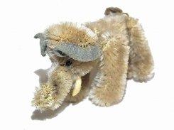 ヴィンテージ ゾウのぬいぐるみ 【 Schuco / シューコ 】1950年代 ライオン ビンテージ トイ アンティーク 動物 かわいい アニマル 象