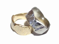Barky Ring リング 【 Luccica ルチカ 】【 メール便 送料無料 】 指輪 アクセサリー 個性的 かわいい レディース シンプル 誕生日 プレゼント 女性