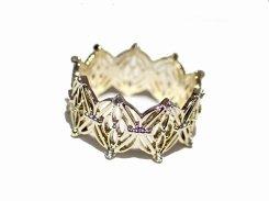 Elmira リング (12号) 【 Luccica ルチカ 】【メール便 送料無料】 指輪  アクセサリー レディース 個性的 エレガント お洒落 王冠 上品