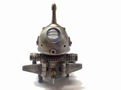 そらろぼさん【いもゆで工房 】 削り出し ロボット おしゃれ メカ かわいい 文具 メンズ ギニック カッコイイ 精密  模型 マニア リアル 空飛ぶ 飛行 昆虫
