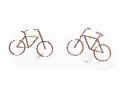 bicicletta イヤリング (カラー:ゴールド) 【 Luccica ルチカ 】【メール便送料無料】 自転車 アクセサリー レディース バイク ユニーク 個性的 おもしろ