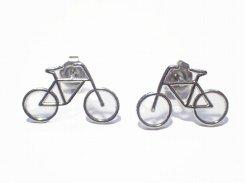 bicicletta ピアス (カラー:シルバー)【Luccica/ルチカ】【メール便送料無料】 自転車 アクセサリー レディース バイク カワイイ ユニーク 個性的 おもしろ