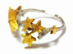 メテオ リング 【 Palnart Poc / パルナートポック / ブラフシューぺリア 】【 ゆうメール 送料無料 】 星 指輪 流星 アクセサリー star Jewelry