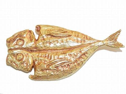 アジ ブローチ【Palnart Poc/パルナートポック Brough Superior/ブラフシューぺリア】【ゆうメール送料無料】あじの開き アクセサリー 魚 フィッシュ 個性的 面白