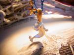 ベルーガ ネックレス【Palnart Poc/パルナートポック Brough Superior/ブラフシューぺリア】【ゆうメール送料無料】イルカ マリン サマー ビーチ アクセサリー