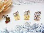 chaton 子猫のセットピアス ゴールド【KAZA/カザ】【メール瓶送料無料】ねこ ネコ キャット アニマル 動物 個性的 アニマル レディース