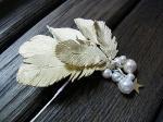 歌の翼バレッタ【Palnart Poc/パルナートポック Brough Superior/ブラフシューぺリア】軽やかで立体的な羽のアクセサリー ウイング キレイ 髪飾り