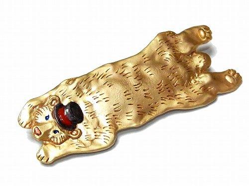 アンデルセン ブローチ【Palnart Poc/パルナートポック Brough Superior/ブラフシューぺリア】【ゆうメール送料無料】熊 クマ アクセサリー メルヘン アニマル 動物