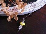 ラッコとアヒルのうきわ イヤーフック 左耳用【cuir carameliser/クイール キャラメリゼ】【ゆうメール送料無料】アニマル 動物 カワイイ おもしろ 個性的