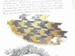 千鳥 バレッタ (ゴールド) 【Palnart Poc/パルナートポック Brough Superior/ブラフシューぺリア】【ゆうメール送料無料】 アクセサリー 和柄 鳥  cool kawaii