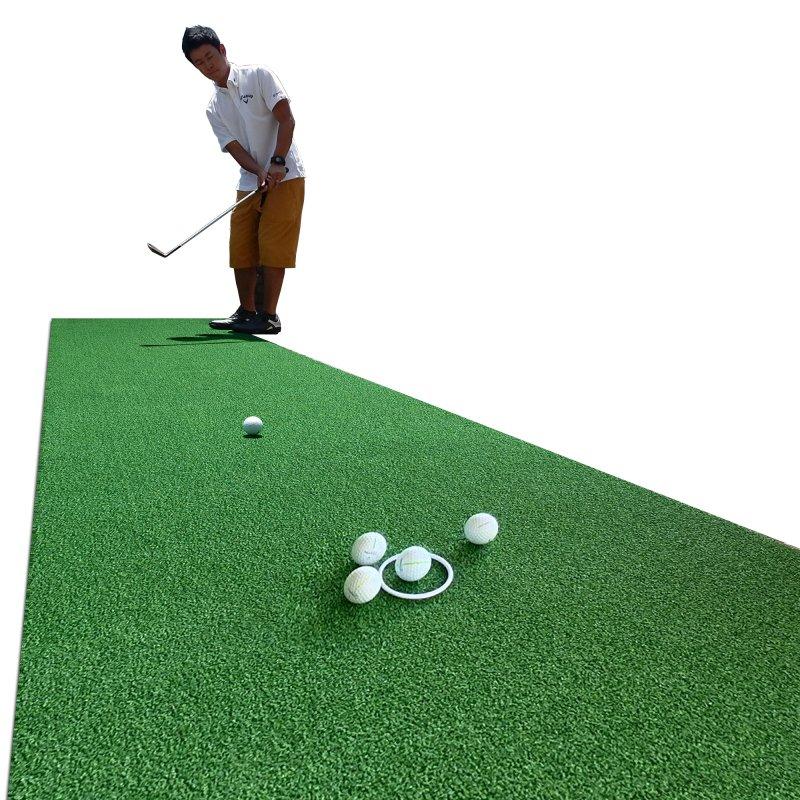 【1点限】アプローチ&パット専用人工芝 チップイングリーン[CHIPIN'GREEN]180cm×3mの画像