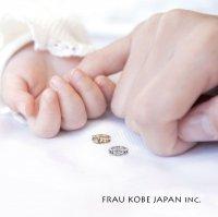 【出産祝いにオススメ♪】「Baby Tiara/ベビーティアラ」 誕生石入りベビーリング(K10)