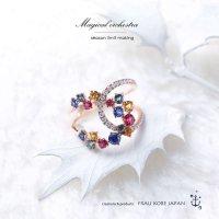 「MAGICL ORCHESTRA / マジカルオーケストラ」リング(K18)