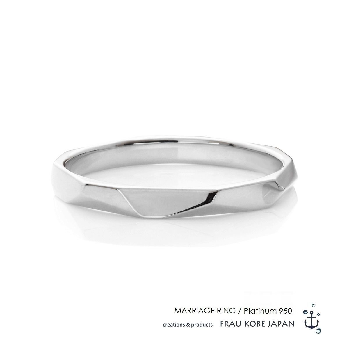 Nature003/Its never melts -Men's- マリッジリング