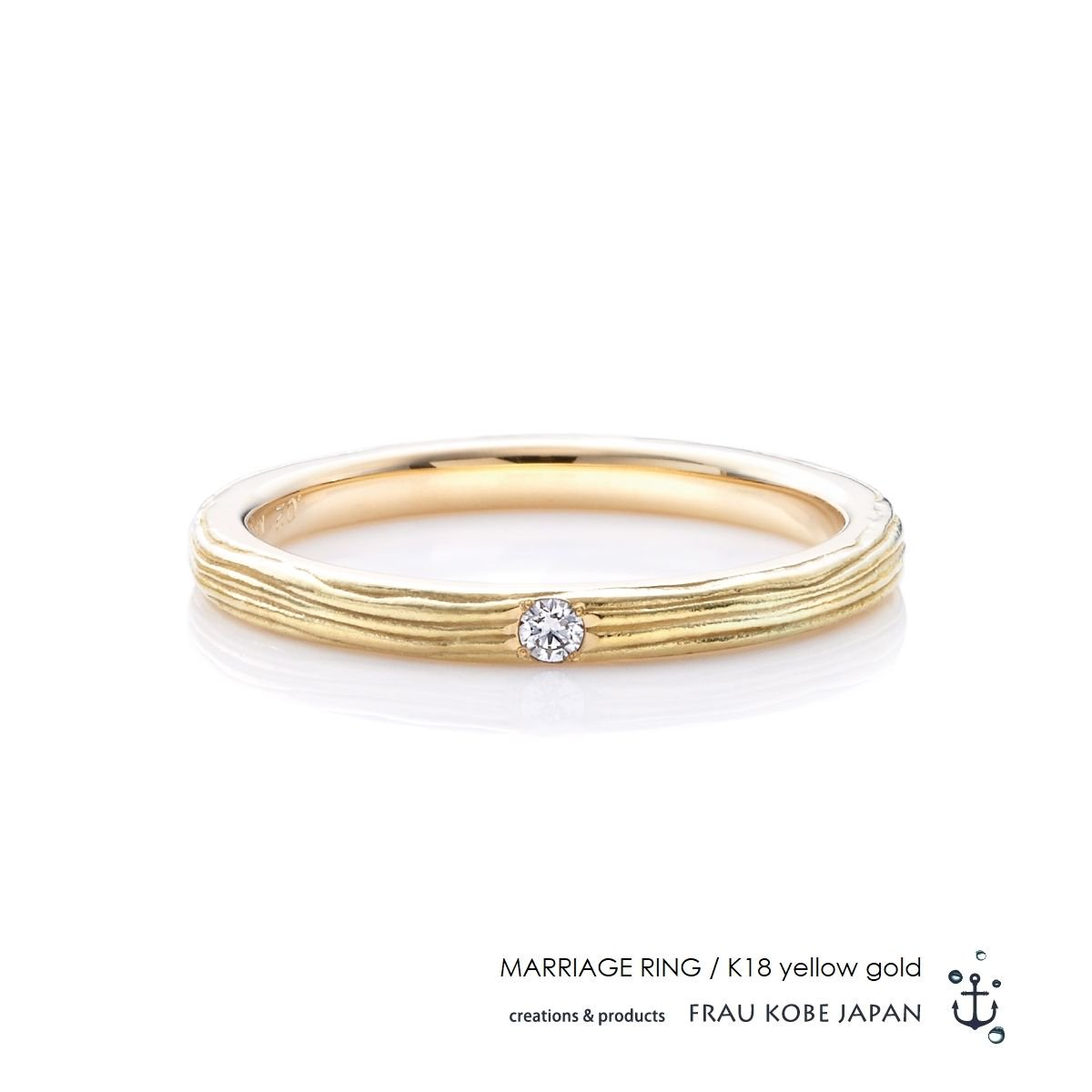 Nature001/Twig of olive -Ladies'- マリッジリング