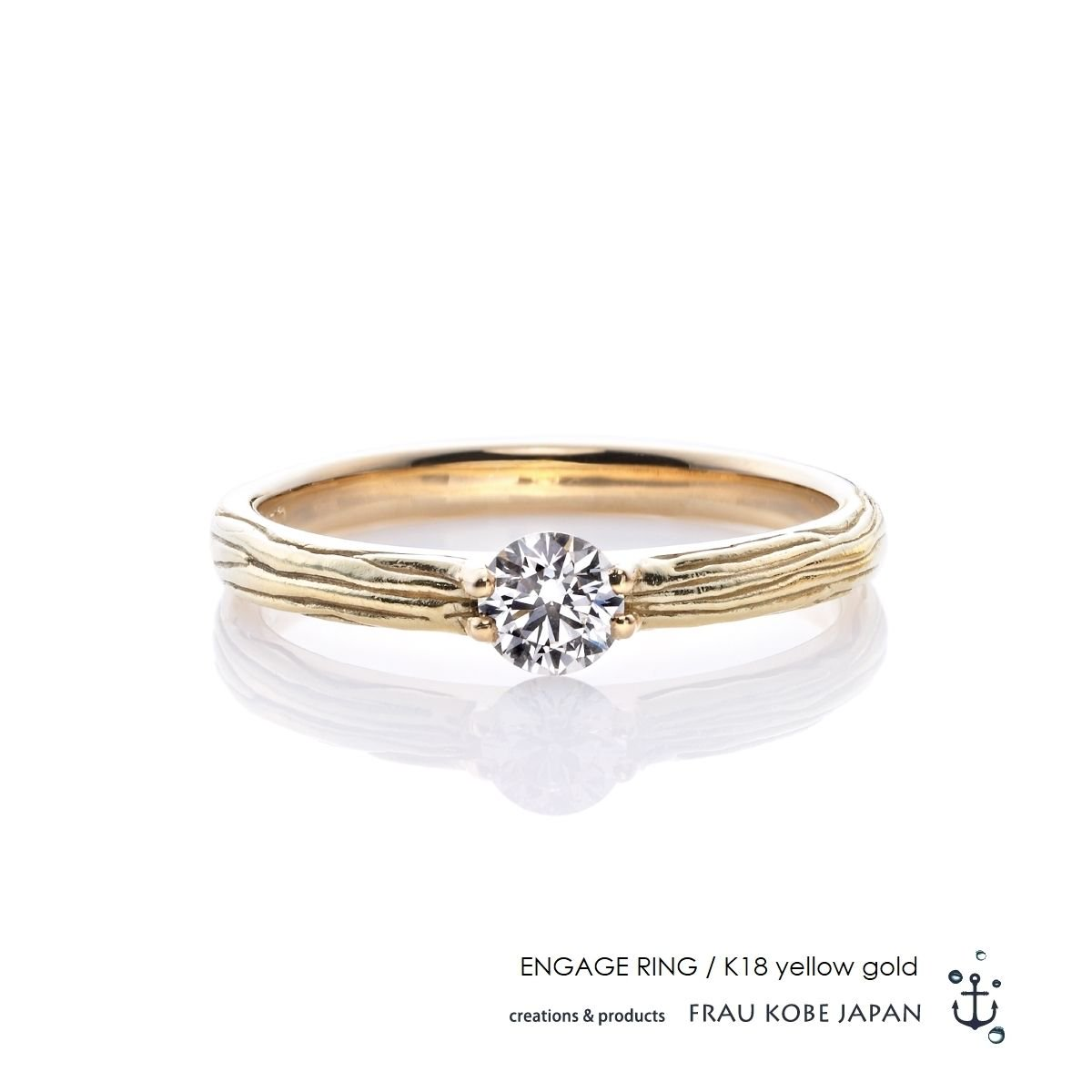 Nature001/Twig of olive エンゲージリング