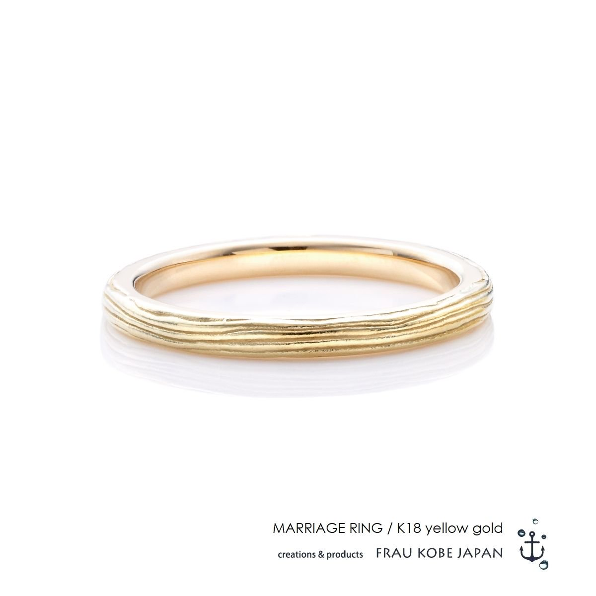 Twig of olive  マリッジリング(Men's)