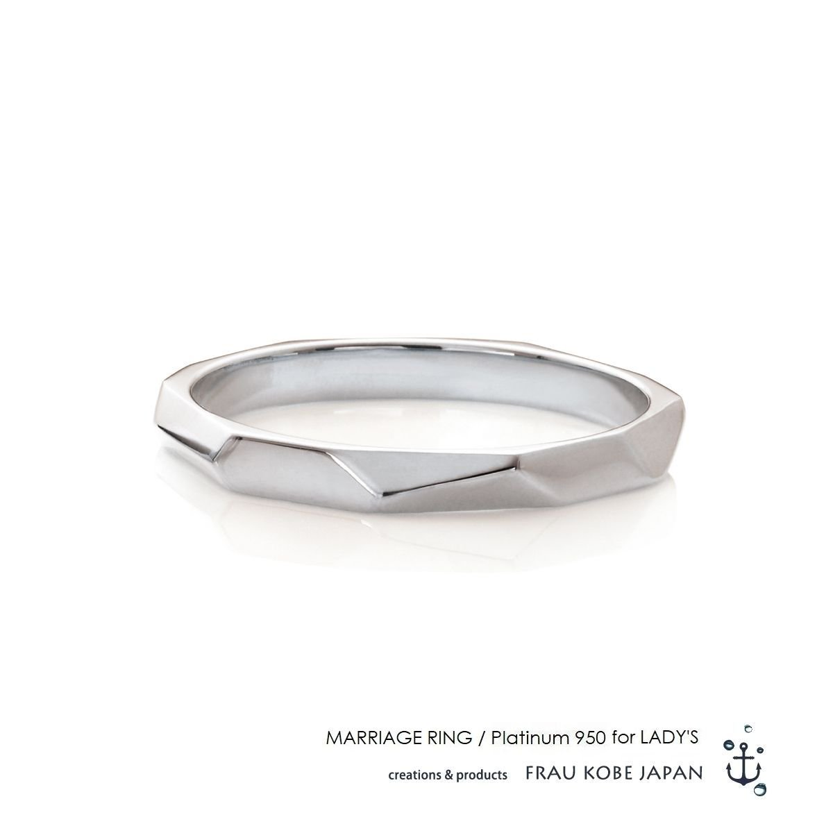 Nature003/Its never melts -Ladies'- マリッジリング