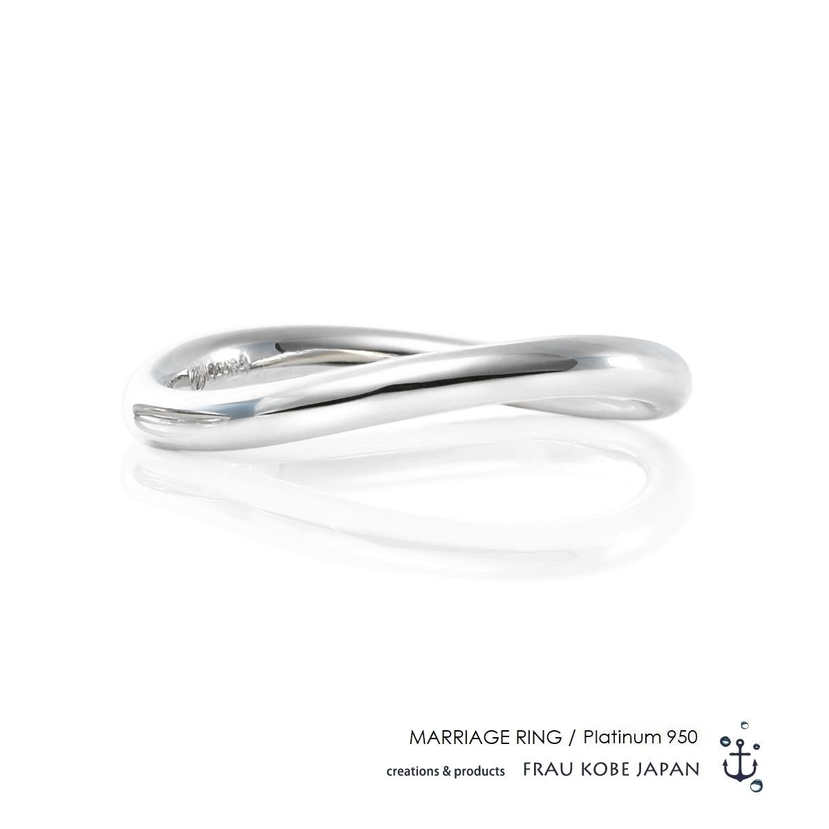 Comfortable twist line -Men's-マリッジリング