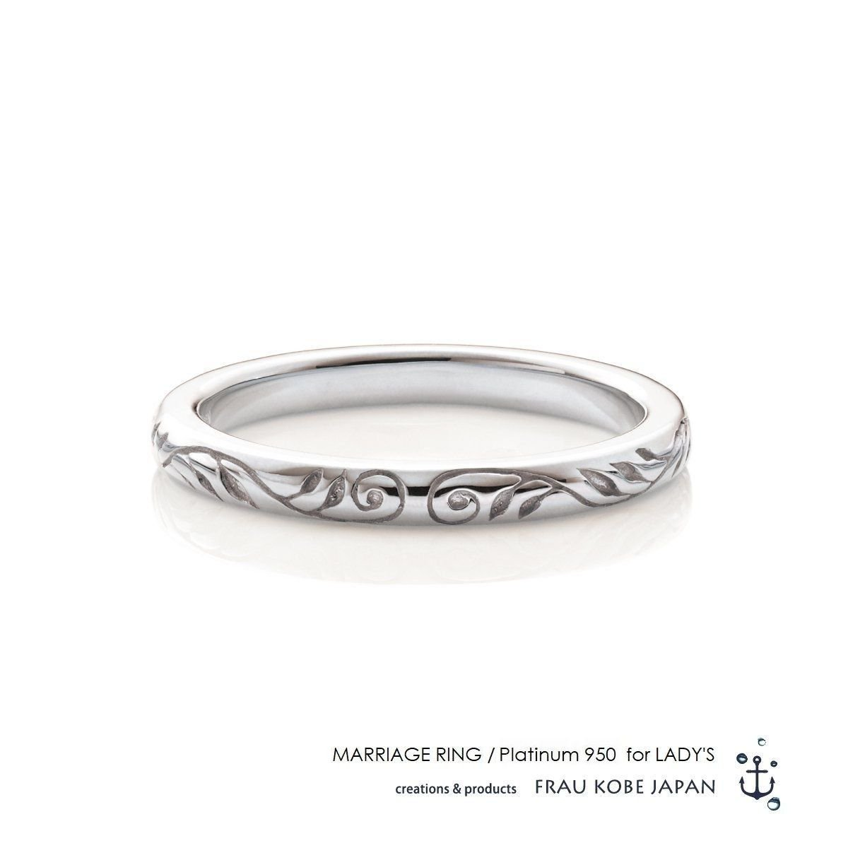 Leaf of nature マリッジリング(Ladies')