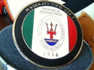 マセラティ250F グリル エンブレム  スパイダー GT クアトロポルテ ジブリ ボラ