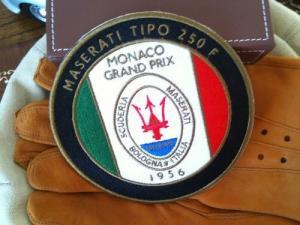 マセラティ250F バッジ エンブレム ロゴ  スパイダー GT クアトロポルテ ジブリ ボラ