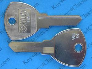 スペアキー・合鍵 #051 ドア用など マセラティ インディ ボーラ メラク 70S