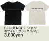 SEQUENCE Tシャツ
