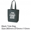 THE BLACK COMET CLUB BAND ブラックトートバッグ