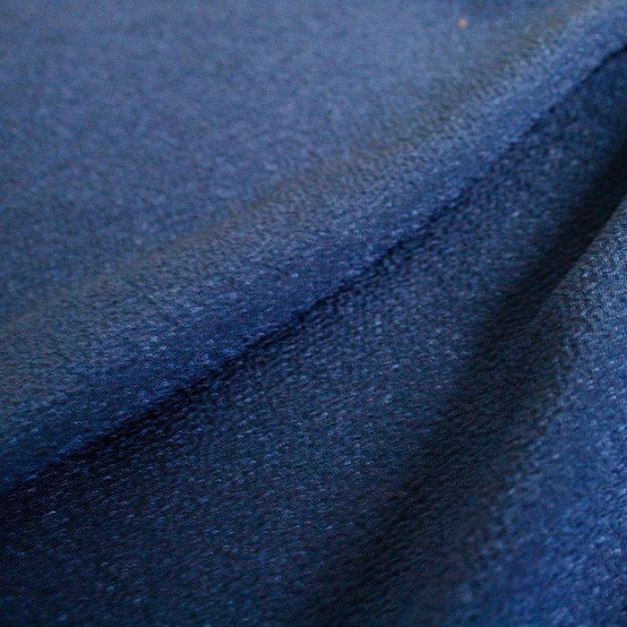 《14枚セット・2巾》「ちりめん無地」青