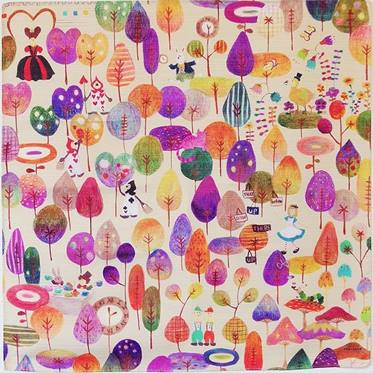 「不思議の国のアリス」エステルシャンタン2巾