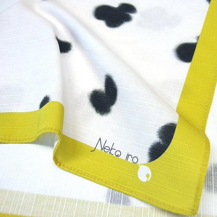 「Neko iro/ぶち黒」小風呂敷