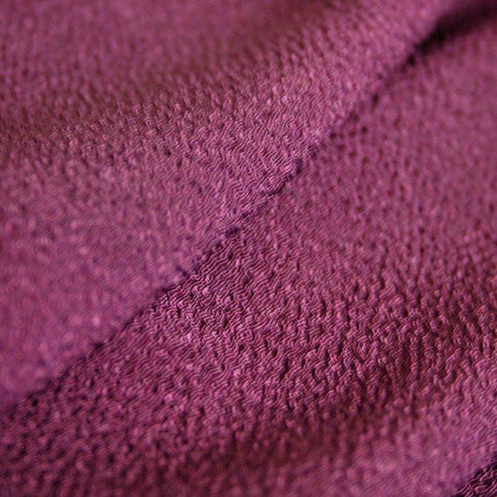 「ちりめん無地」紫  小風呂敷