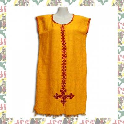 エチオピアの刺繍チュニック M-L相当