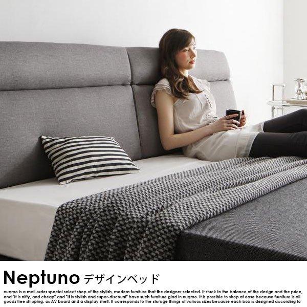 北欧ベッド モダンレザーローベッド Neptuno【ネプトゥーノ】フレームのみ ダブル の商品写真その3