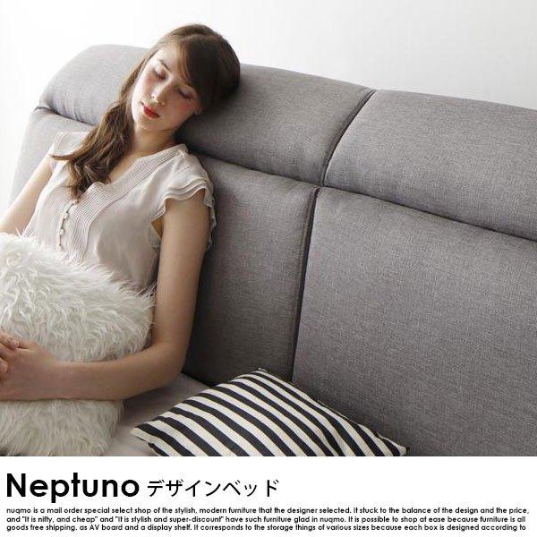 北欧ベッド モダンレザーローベッド Neptuno【ネプトゥーノ】フレームのみ ダブル の商品写真その4