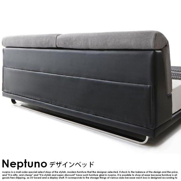 北欧ベッド モダンレザーローベッド Neptuno【ネプトゥーノ】フレームのみ ダブル の商品写真その5