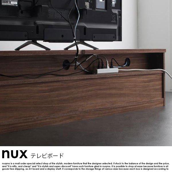 シンプルモダンリビングシリーズ nux【ヌクス】テレビボードW180の商品写真その1