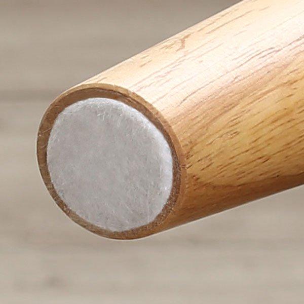 北欧デザインリビングダイニング SLIVE【スライブ】3点セット(テーブル+2Pソファ1脚+アームソファ1脚)W115cm の商品写真その6