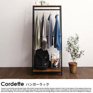 ヴィンテージ調リビング収納シリーズ Cordette【コルデット】ハンガーラックの商品写真